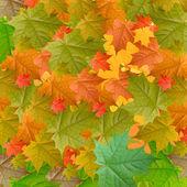 Yellow autumn background — Stock Photo