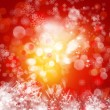 Cristmas background with lights — Stock Photo #16189083
