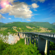 The big Montenegro bridge — Stock Photo #16189023