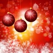 Cristmas background with lights — Stock Photo #16486411