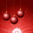 Red Cristmass background — Stock Photo #16486459