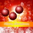Cristmas background with lights — Stock Photo #16486461