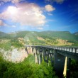 The big Montenegro bridge — Stock Photo #16486497