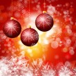 Cristmas background with lights - Lizenzfreies Foto