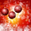 Cristmas background with lights — Stock Photo #16833725