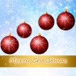 Red Cristmass background — Stock Photo #17879961