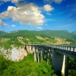 The big Montenegro bridge — Stock Photo