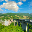 The big Montenegro bridge - Stock Photo