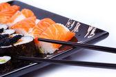 Fresh sushi — Stock Photo