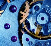 Metall klockmekanismen — Stockfoto