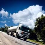 Truck on the asphalt road — Stock Photo #32570797