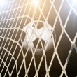 Soccer stadium with bright lights — Stock Photo #34942913