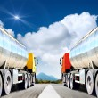 Big trucks — Stock Photo #37571835