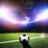 Stadium in lights — Stock Photo
