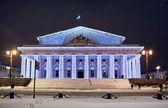 Rusia, san petersburgo. flecha de isla vasilevski — Foto de Stock
