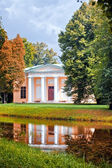 Upper Bath pavilion in Catherine park of Tsarskoe Selo, Sankt-Peterburg — Stock Photo