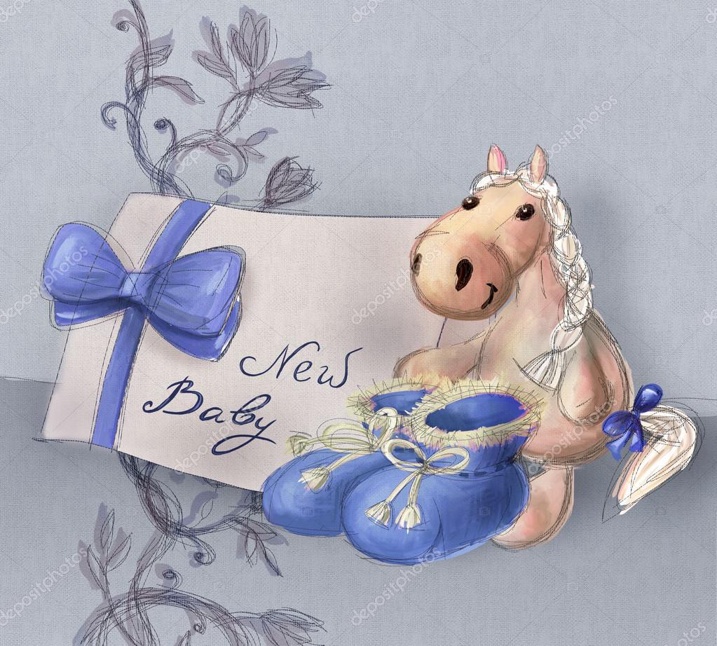 Поздравления и красивые открытки с рождением ребенка 35