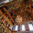 Stock Photo: Transfiguration Cathedral in Uglich. interior of dome and iconostasis.