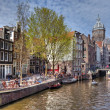 Canal of Amsterdam — Stock Photo