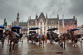 Brugge city in Belgium — Stock Photo