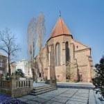 Gothic church in Poznan, Poland — Stock Photo