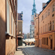 Old Town in Poznan, Poland — Stock Photo
