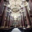 Stock Photo: Interior of church in Poznan, Poland