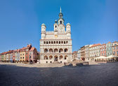 Old Town Hall in Poznan, Poland — Stock Photo