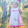Child in a hat — Stock Photo