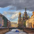 Church of the Savior on Blood in St Petersburg — Foto Stock