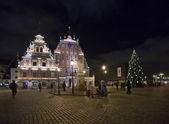 House of the Blackheads Riga — Stock Photo