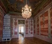 Интерьера бальных в Рундальском дворце — Стоковое фото