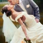 Portrait of newlyweds — Photo #4147033
