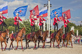 Performance Kremlin Riding School — Stock Photo