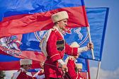 Wydajność kremla ujeżdżalnia — Zdjęcie stockowe