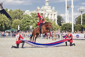 Performance Kremlin Riding School — Stock Photo