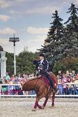 Escuela de equitación de kremlin de rendimiento — Foto de Stock