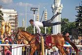 パフォーマンス クレムリン乗馬学校 — ストック写真