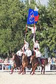 Performance Kremlin Riding School — Стоковое фото