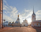 Panorama of the Vologda Kremlin — Stock Photo