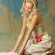 Young, beautiful blonde - Stockfoto