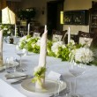 Wedding table setting — Stock Photo #13391114