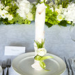 Wedding table setting — Stock Photo #13391121