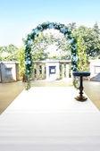 Düğün kemer — Stok fotoğraf