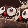 Owl cookies - Stockfoto
