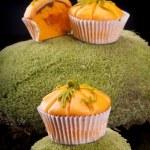 Pumpkin muffins — Stock Photo #13781425
