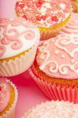 Roze cupcakes — Stockfoto
