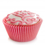 Pink cupcake — Stock Photo #14120880