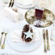 Stock Photo: Luxury place setting for wedding