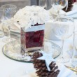 Luxury place setting for wedding — Stock Photo #16832549